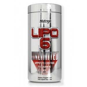 LIPO 6 UNLIMITED (120 CAPS) - NUTREX (U.S.A)