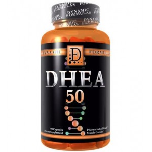 DHEA 50MG (90 CAPS) - DYNAMIC FORMULAS