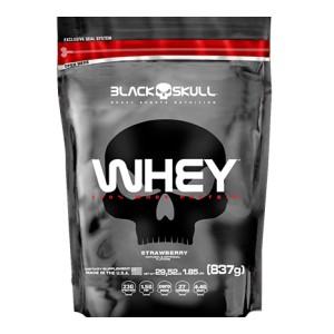 100% WHEY REFIL (837GR) - BLACK SKULL