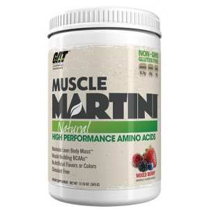 MUSCLE MARTINI NATURAL (345GR) - GAT SPORT