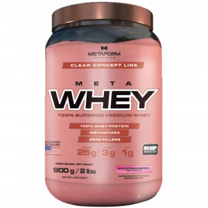 META WHEY 900GR - METAFORM NUTRITION