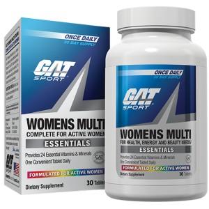 WOMENS MULTI (60 TABS) - GAT SPORT