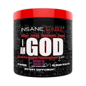I AM GOD (25 DOSES) - INSANE LABZ