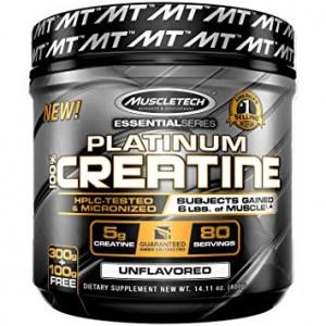 Platinum 100% Creatine 400gr - Muscle Tech