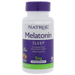 Melatonina 5mg Sub-lingual 90 tabs - Natrol